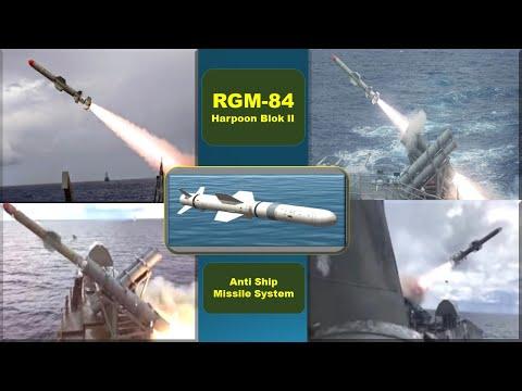 [Pecinta Militer] RGM-84 Harpoon Blok II - Anti Ship Missile System