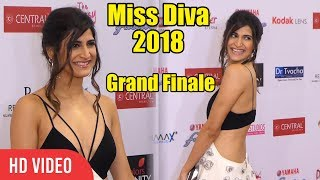 Slim Beauty Aahana Kumra at Yamaha Fascino Miss Diva 2018 Grand Finale