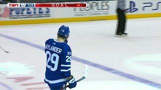 William Nylander scores Overtime Game Winner! 11/16/17 (New Jersey Devils vs Toronto Maple Leafs)