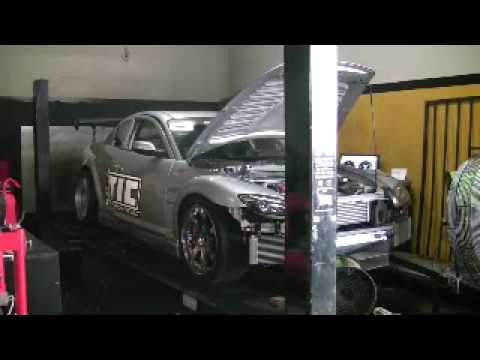 Tuned By Nelson S Time Attack  JIC RX8 Race Car 437HP 15psi