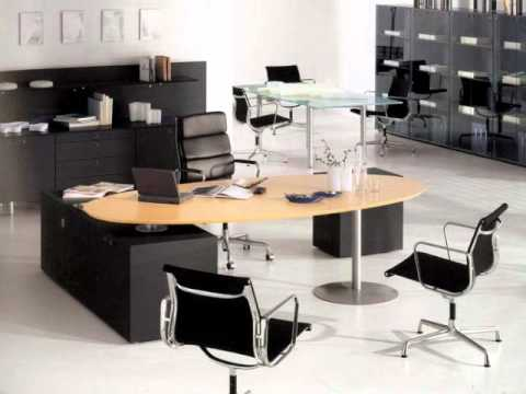 Muebles y ambientes de oficina youtube for Oficinas de lujo