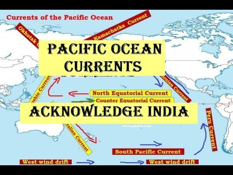 Geography | Pacific ocean currents |by |Manoj deva