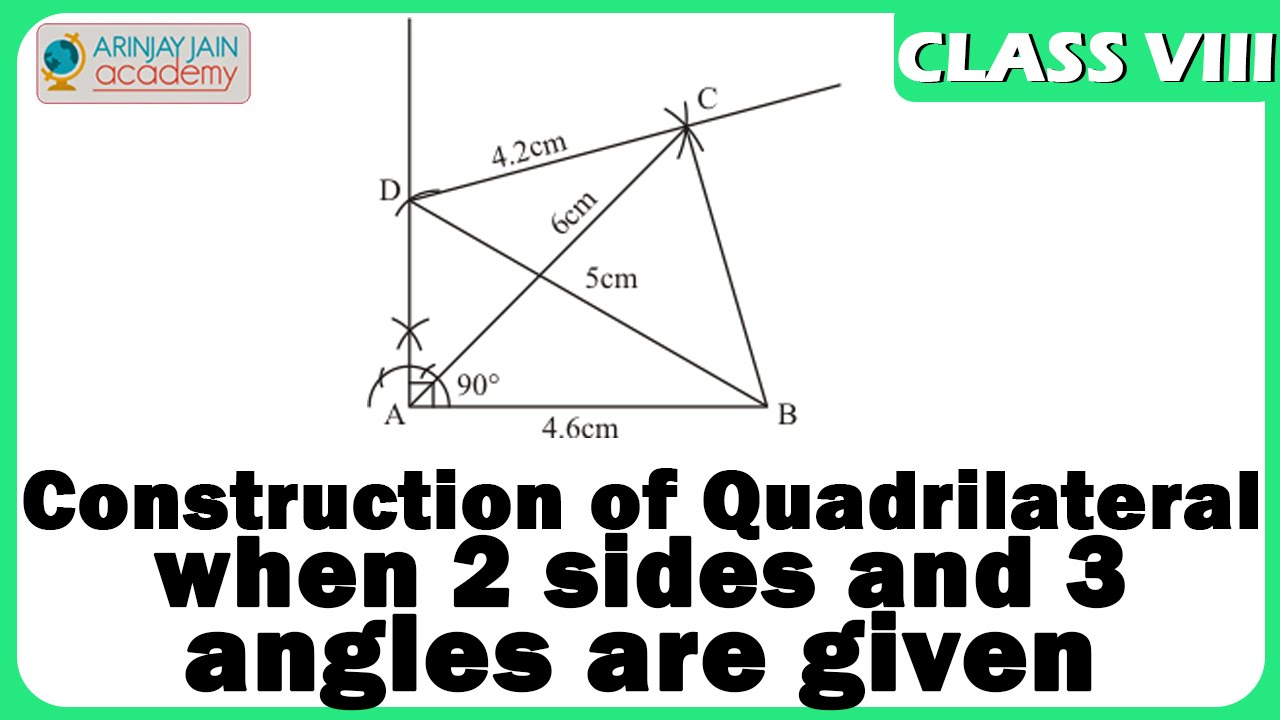 Quadrilateral Construction With Two Sides And Three Angles