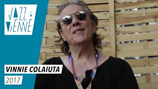 EN COULISSES - Vinnie Colaiuta - Jazz à Vienne
