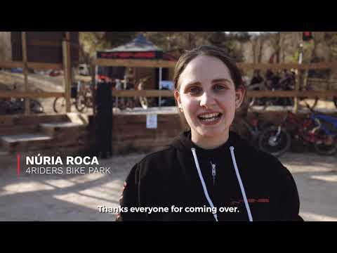 INTENSE Downhill Mountain Bike Trail opening