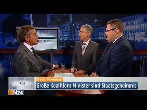 Studio Friedman: Wohltaten, egal was sie kosten (Ganze Sendung 05.12.2013)