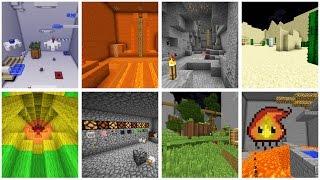 видео: 8 порталов - 8 миров   Майнкрафт приключение [карта]