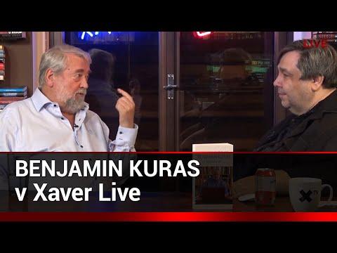 Xaver s hostem: Benjamin Kuras