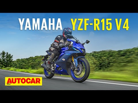 Download 2021 Yamaha R15 V4 review - V4 vendetta | First Ride | Autocar India