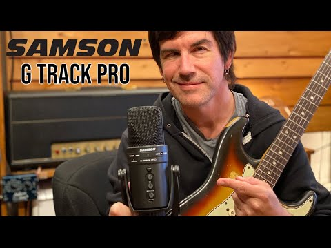 Pete Thorn Showcases Samson G-Track Pro USB Condenser Microphone for Live Streaming and Podcasting