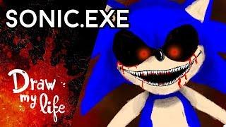 la maldicin de sonic exe draw my life