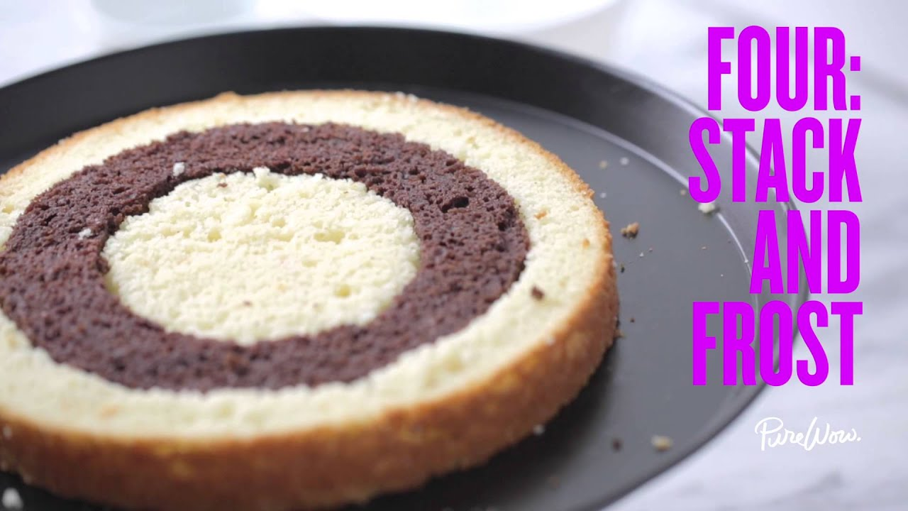 How To Make A Checkerboard Cake Youtube