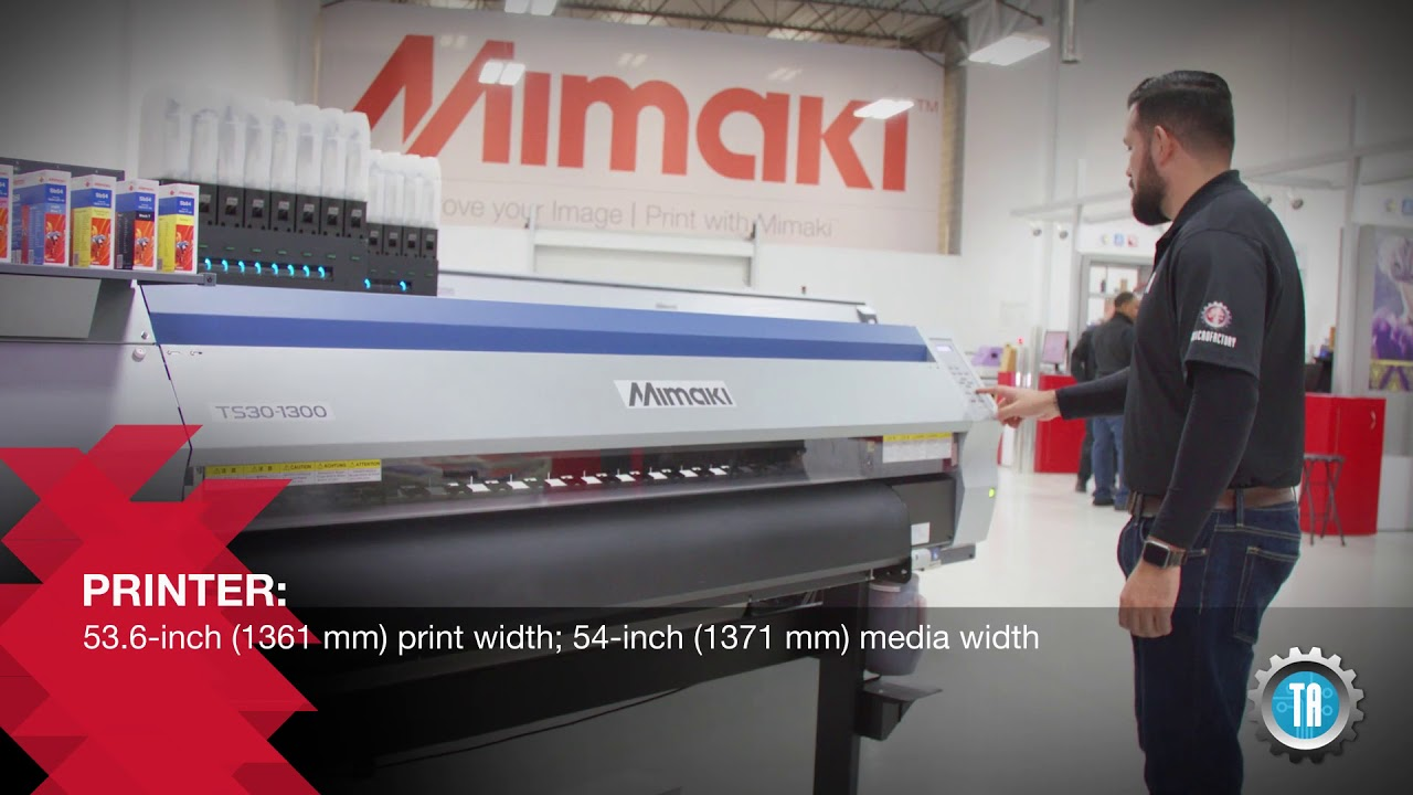 Mimaki TS30 1300 Heat Press