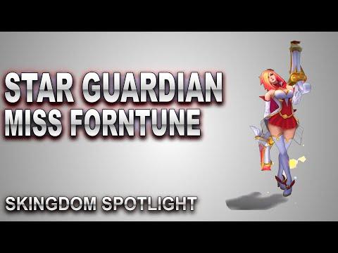 Star Guardian Miss Fortune Skin Spotlight   SKingdom - League of Legends