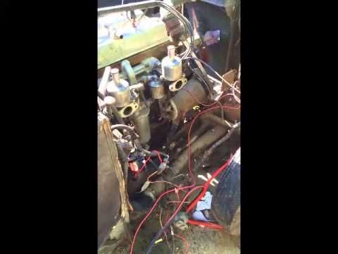 Riley 2.5 Litre Engine, Circa 1950 Philadelphia