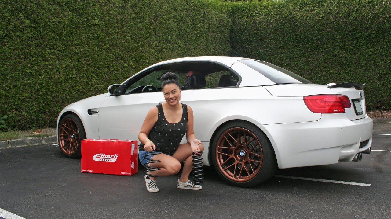 How to Install Lowering Springs on BMW M3 - Eibach Pro-Kit Performance