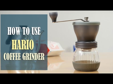 Hario Ceramic Coffee Grinder Instructions – How to Use, Adjust the Grind Setting and Clean