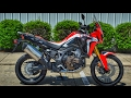 2017 Honda Africa Twin DCT Review of Specs | CRF1000L Automatic Adventure Motorycle