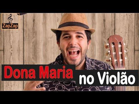 Dona Maria- Thiago Brava- Aula de violão
