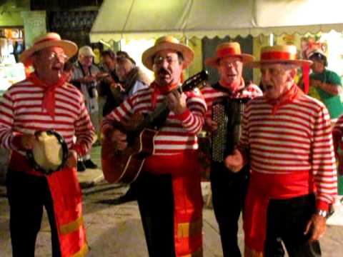 Gondolier song Venezia 7 sep 2010