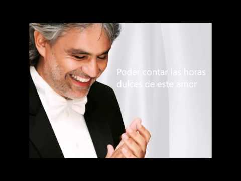 Andrea Bocelli - Historia De Amor with lyrics
