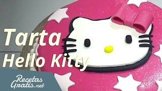 Tarta Hello Kitty - Hello Kitty Cake