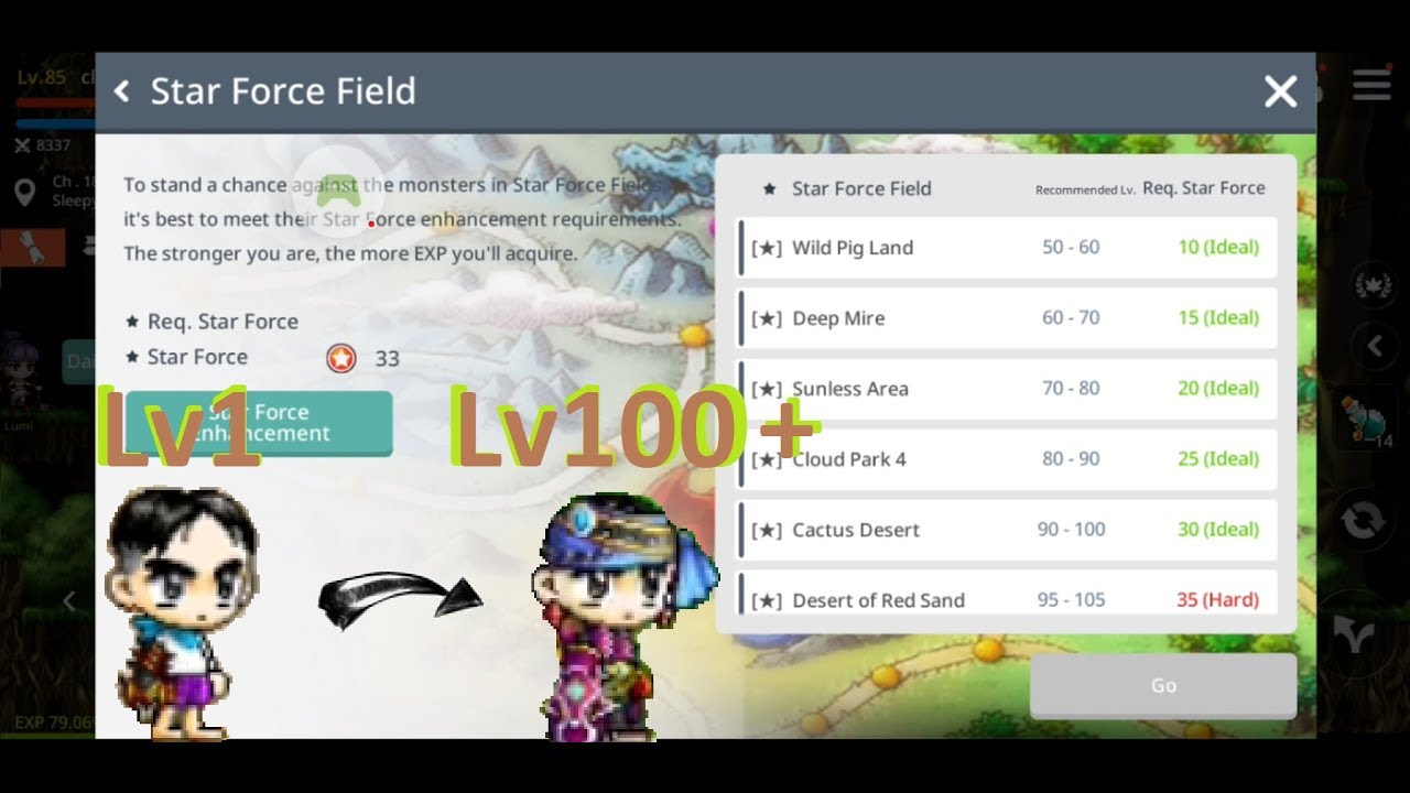 MapleStory M Review and Tips - How to Level Up Fast in MapleStory M
