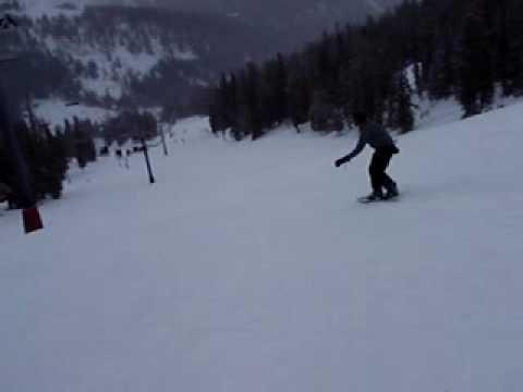 Birney Snowboarding at Loveland