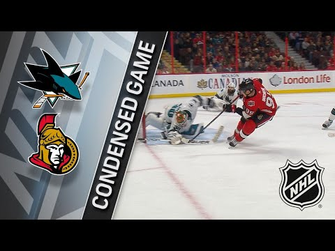 01/05/18 Condensed Game: Sharks @ Senators