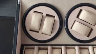 Caja para Relojes de Rotación Automatica