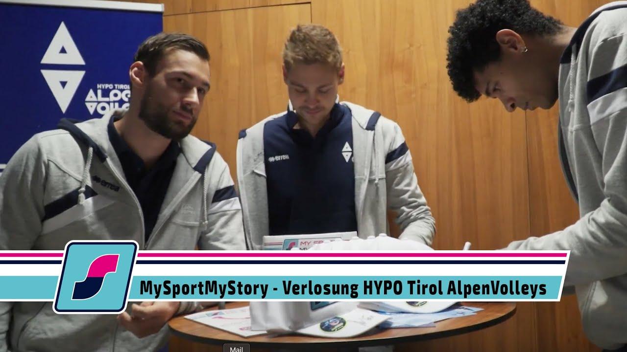 MySportMyStory - Verlosung VIP Tickets HYPO Tirol AlpenVolleys