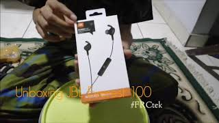 unboxing JBL Bluetooth Wireless Everest 100  Indonesia