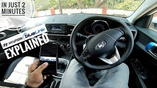 Hyundai Blue-Link Explained in just 2 Minutes