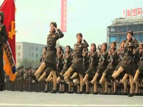 North Korea's military parade, stavarsky - Posthuman