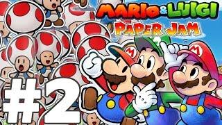 MARIO & LUIGI PAPER JAM BROS Episode 2 FR Nintendo 3DS & 2DS   PAPER MARIO !