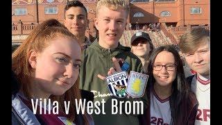 Aston Villa v West Bromwich Albion VLOG   NO WORDS