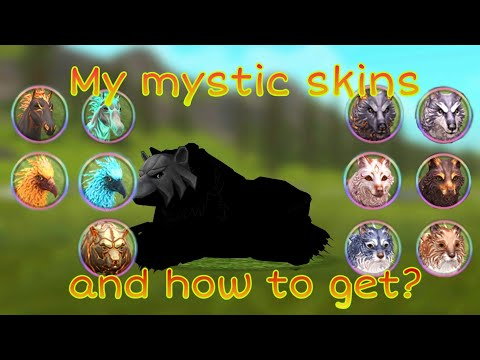 WildCraft #97 - My Mystic Skins And How To Get Mystic Skins Easier!