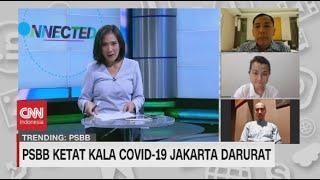 PSBB Ketat Kala Covid-19 Jakarta Darurat