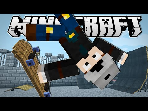Minecraft | SKATEBOARDING IN MINECRAFT!!