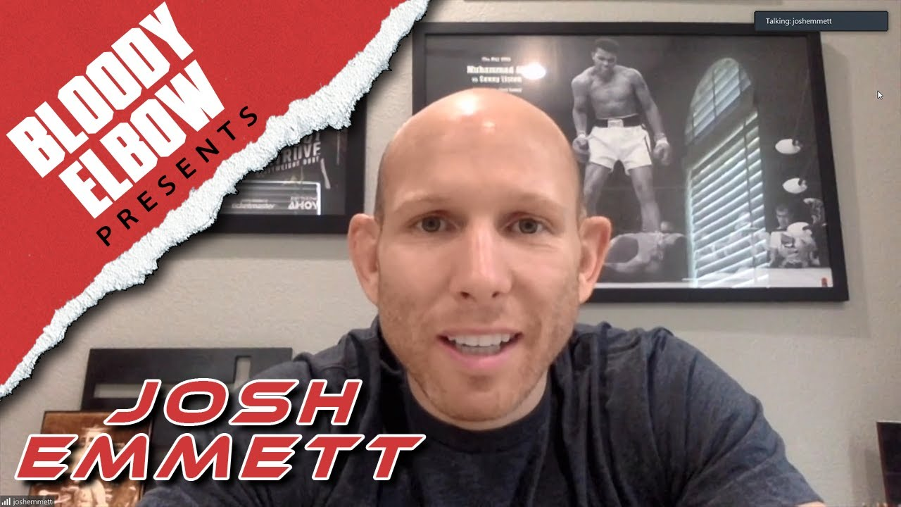 Josh Emmett shares 'crazy' story of 'illegally' flying out of Asia during COVID-19 outbreak