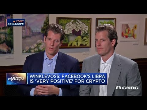 Why the Winklevoss twins think Facebook's Libra is 'very positive' for crypto