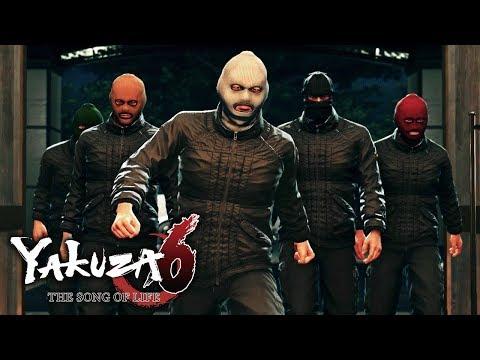 Yakuza 6: The Song of Life - Chapter #5 - Masked [2/2] (PS4)