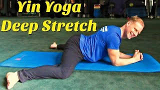 Day 6 - Yin Yoga Stretch Routine - 7 Day Flexibility Challenge #7dayflexibilitychallenge