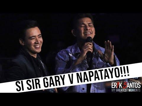 NAPATAYO SI GARY VALENCIANO!!! ERIK SANTOS SINGS SANA MAULIT MULI!