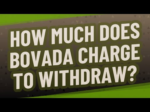 How Much Does Bovada Charge To Withdraw?