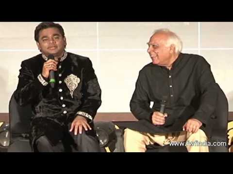 A R RAHMAN & KAPIL SIBAL ASSOCIATION FOR ALBUM RAUNAQ