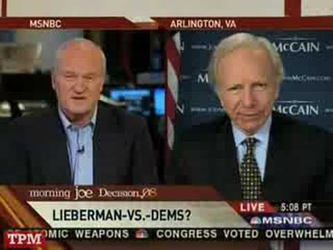 Does Joe Lieberman Still Have Friends?