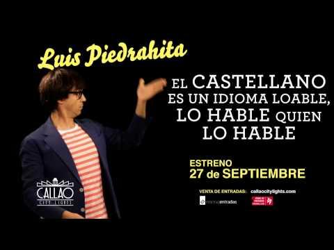 Luis Piedrahita estrena en Callao City Lights