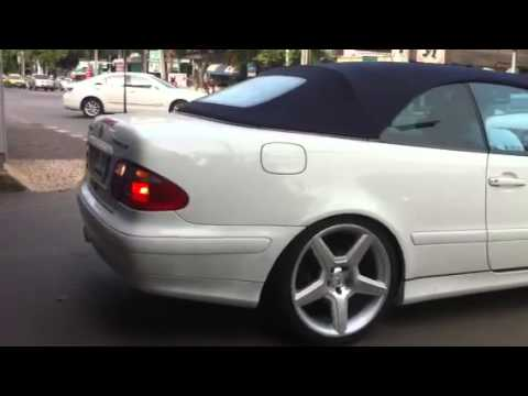 benz clk w208 convertible in bkk uncleball youtube. Black Bedroom Furniture Sets. Home Design Ideas