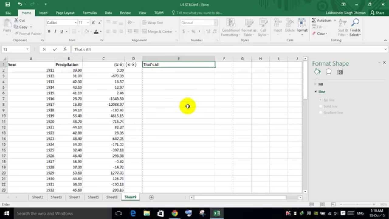 How to type xbar in excel youtube how to type xbar in excel biocorpaavc